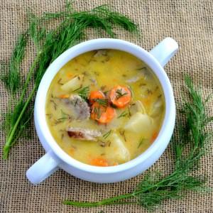 16 brat soup