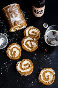 20 pumpkin beer roll